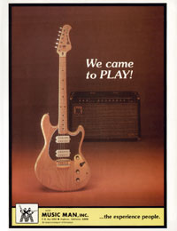 Music Man Stingray - We Came To Play
