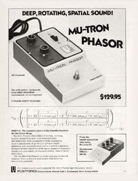 Musitronics Phasor - Deep, Rotating, Spatial Sound! Mu-Tron Phaser