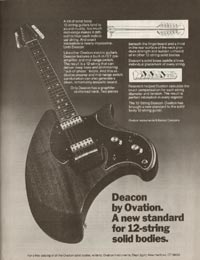 Ovation Deacon 1253 (twelve string) - 1977