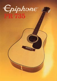 1982 Epiphone Presentation Series PR735 acoustic (Japan)