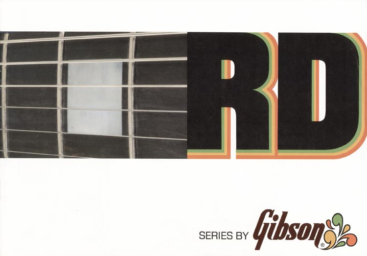 1978 Gibson RD guitar and bass catalogue page 1