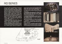 1978 Gibson RD guitar and bass catalogue page 2