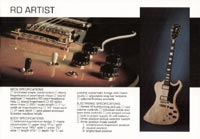 1978 Gibson RD guitar and bass catalogue page 3