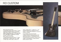 1978 Gibson RD guitar and bass catalogue page 4