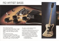 1978 Gibson RD guitar and bass catalogue page 6