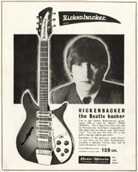 Rickenbacker 1996 - Rickenbacker The Beatle Backer