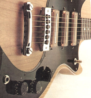 The Gibson S-1 pickup arrangement