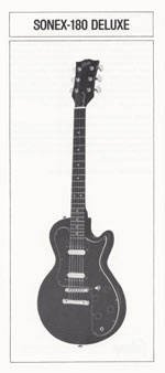 1981 Gibson Sonex owners manual page 4