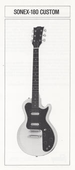 1981 Gibson Sonex owners manual page 6