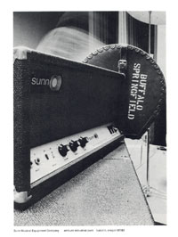 Sunn Amplifiers - Buffalo Springfield