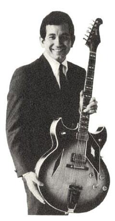 Trini Lopez with his 1967 Trini Lopez Deluxe