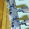 1967 Vox V267 Cheetah - Machine Head Detail