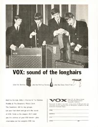 Vox AC 100 Super De Luxe - VOX: Sound of the Longhairs (Beatles)