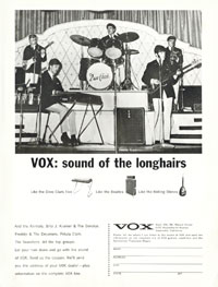 Vox Mark VI V222 - VOX: Sound of the Longhairs (Dave Clark 5)