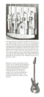 1981 Gibson Victory bass owners manual page 3