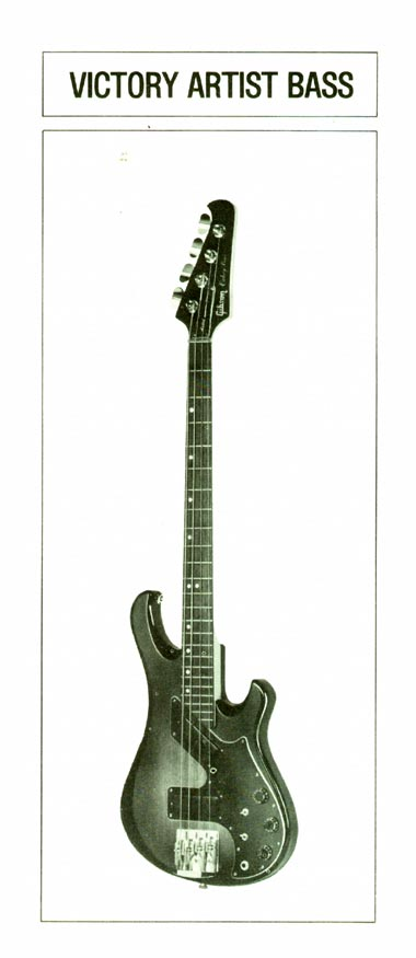 1981 Gibson Victory bass owners manual page 6