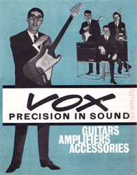 Vox 1963 Precision in Sound catalogue