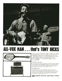 Vox AC 50 - All-Vox man... thats Tony Hicks