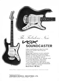 Vox Soundcaster - The fabulous new Vox Soundcaster