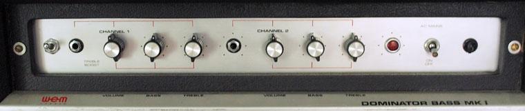 WEM Dominator Bass MK1