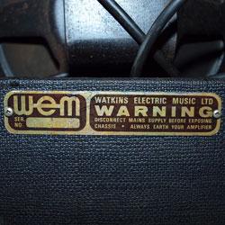 WEM Clubman serial number