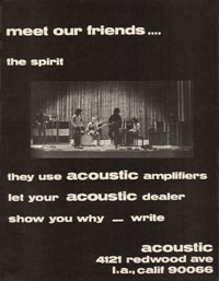 Acoustic Amplifiers - Meet Our Friends - The Spirit