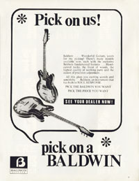 Baldwin Guitars - 1971