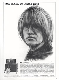 Vox Phantom XII - Vox Hall of Fame: No 1 Brian Jones