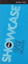 1972 Gibson Showcase leaflet - Byrdland
