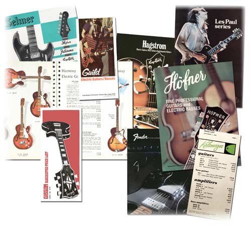 Older Guitar catalogues can be invaluable in instrument identification