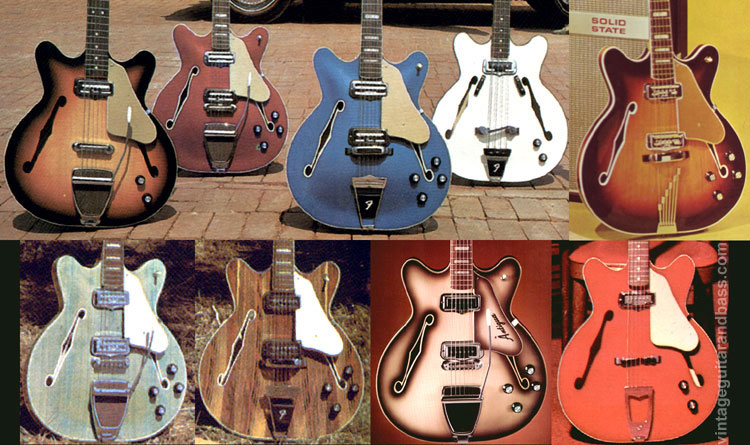 Fender Coronado guitars