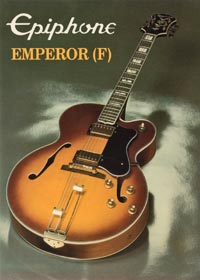 1982 Epiphone Emperor full body (Japan)