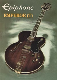 1982 Epiphone Emperor thinline (Japan)