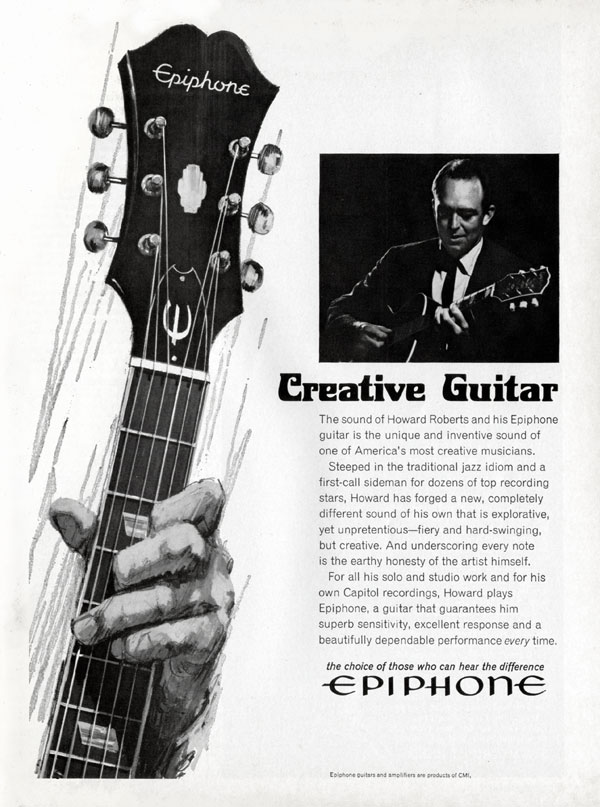 Epiphone advertisement (1967) Creative Guitar