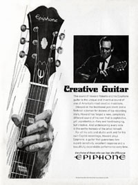Epiphone Howard Roberts - Creative Guitar