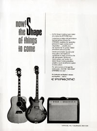 Epiphone Acoustics - Now! The Shape of Things To Come
