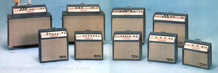 Vintage Epiphone amplifiers