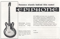 Epiphone Rivoli - Success Stands Behind This Name - Epiphone