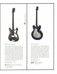 1961 Epiphone full line catalogue page 13