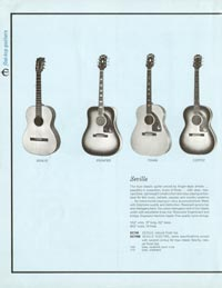 1961 Epiphone full line catalogue page 14