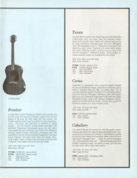 1961 Epiphone full line catalogue page 15