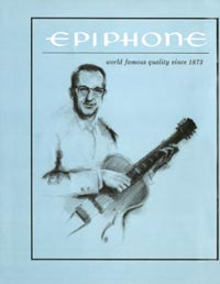 1961 Epiphone full line catalogue page 2