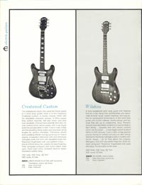 1961 Epiphone full line catalogue page 8