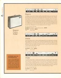 1962 Epiphone full line catalogue page 10