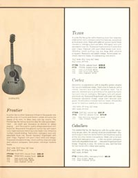 1962 Epiphone full line catalogue page 15