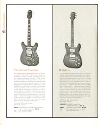 1962 Epiphone full line catalogue page 8