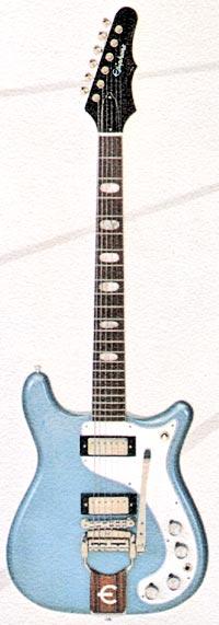Epiphone Crestwood Custom from the 1964 Epiphone catalogue