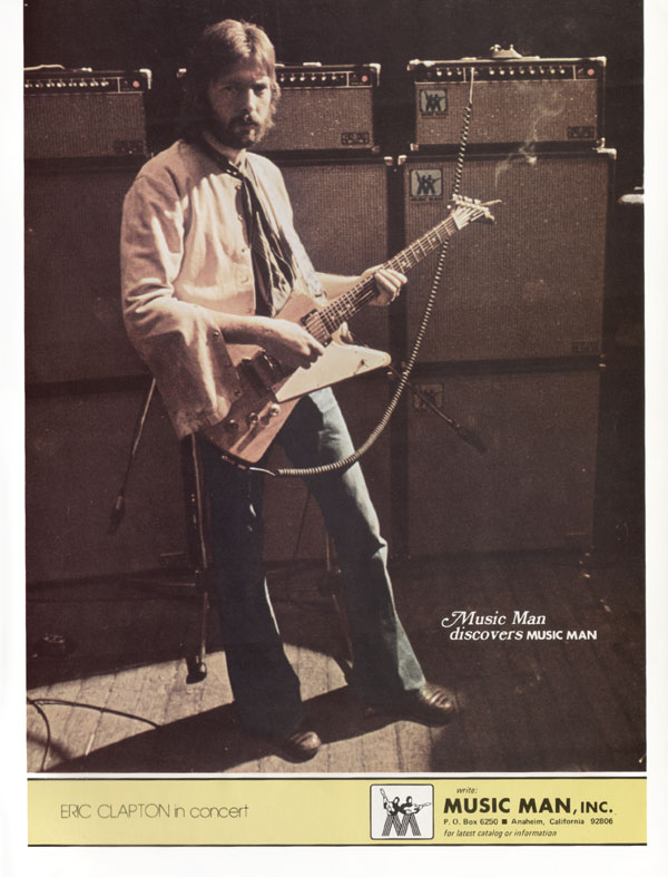Music Man advertisement (1976) Music Man Discovers Music Man