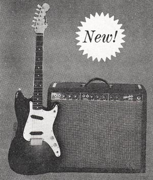 The Fender Duo-Sonic in the 1960 Fender catalog