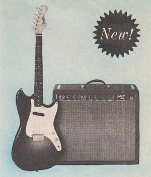 The Fender Musicmaster in the 1960 Fender catalog
